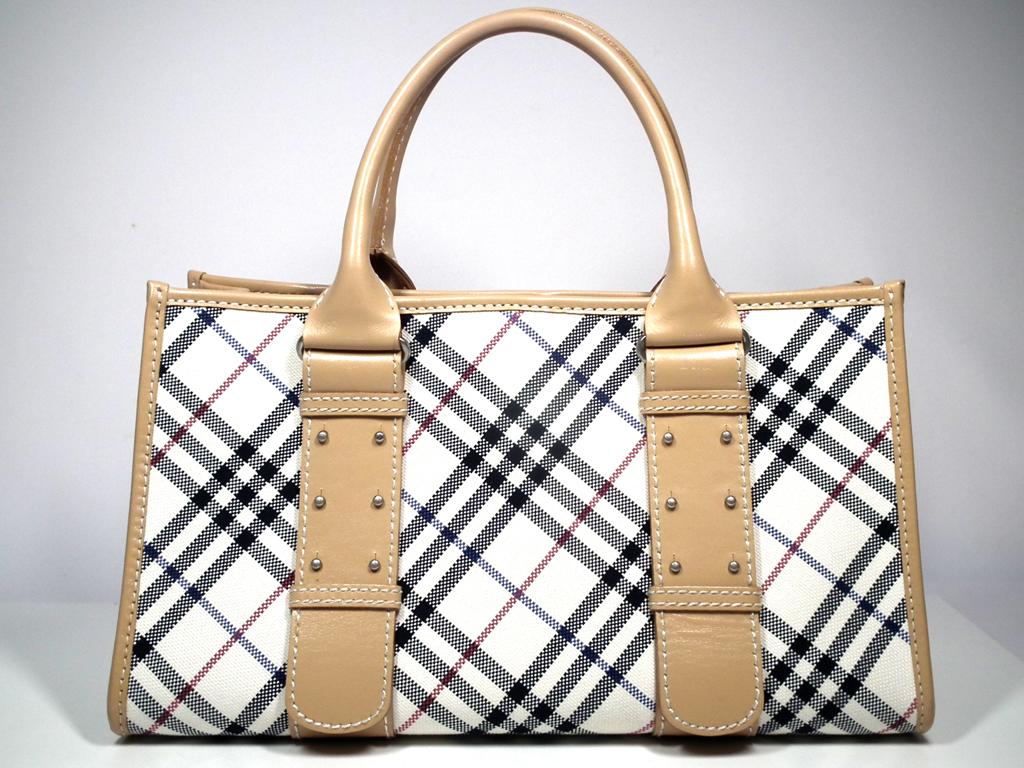 2a3bb2fe33d0 Brandeal Rakuten Ichiba Shop  Good Burberry blue label handbag tote ...