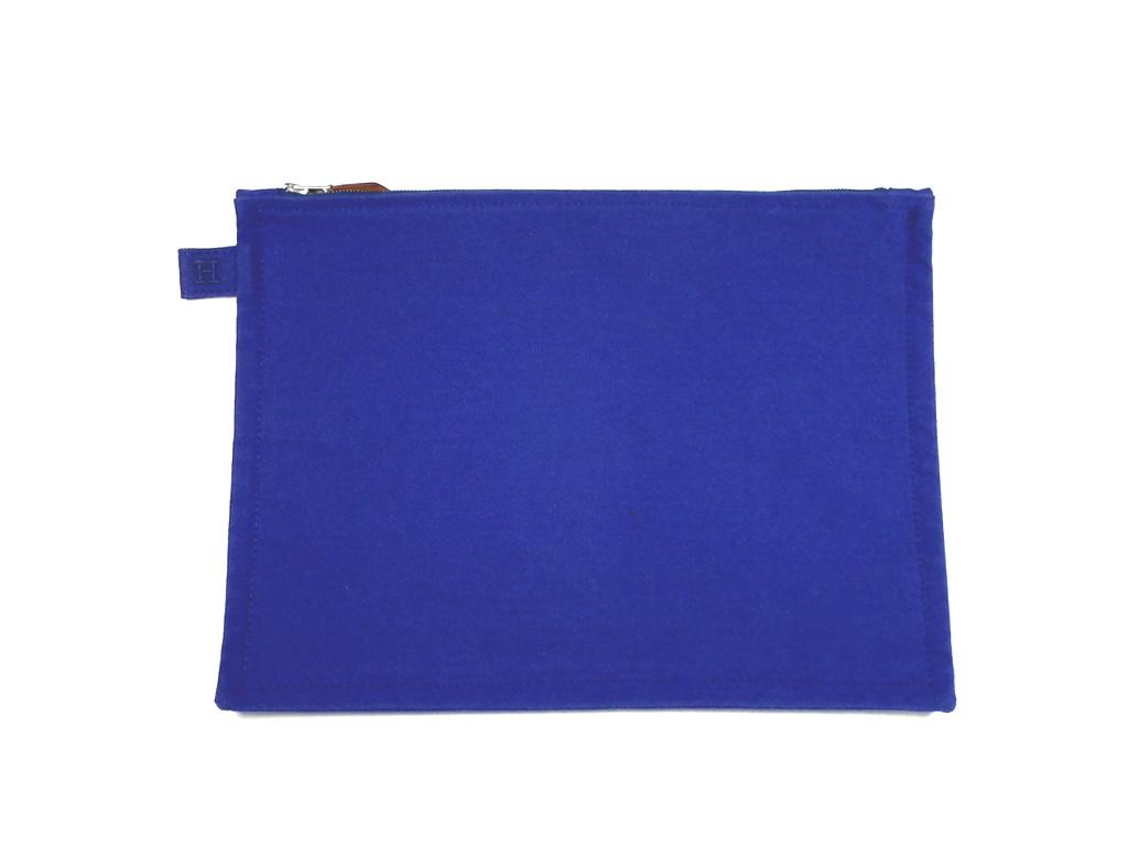 5da12278 Like-new Hermes hat knit hat knit cap LA navy green cashmere knit hat H  mark HERMES men dark blue