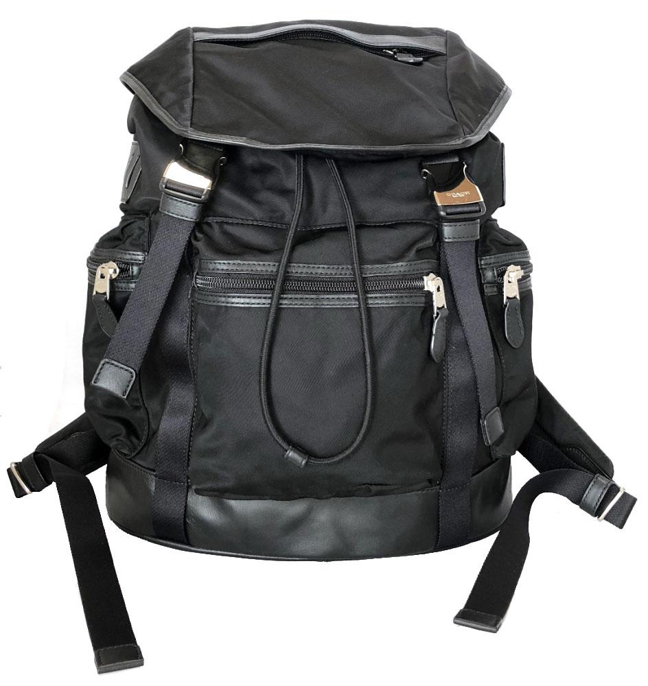 Coach men backpack rucksack rucksack nylon black black outlet beauty  product COACH F71884 logo acfb3a4b778a6