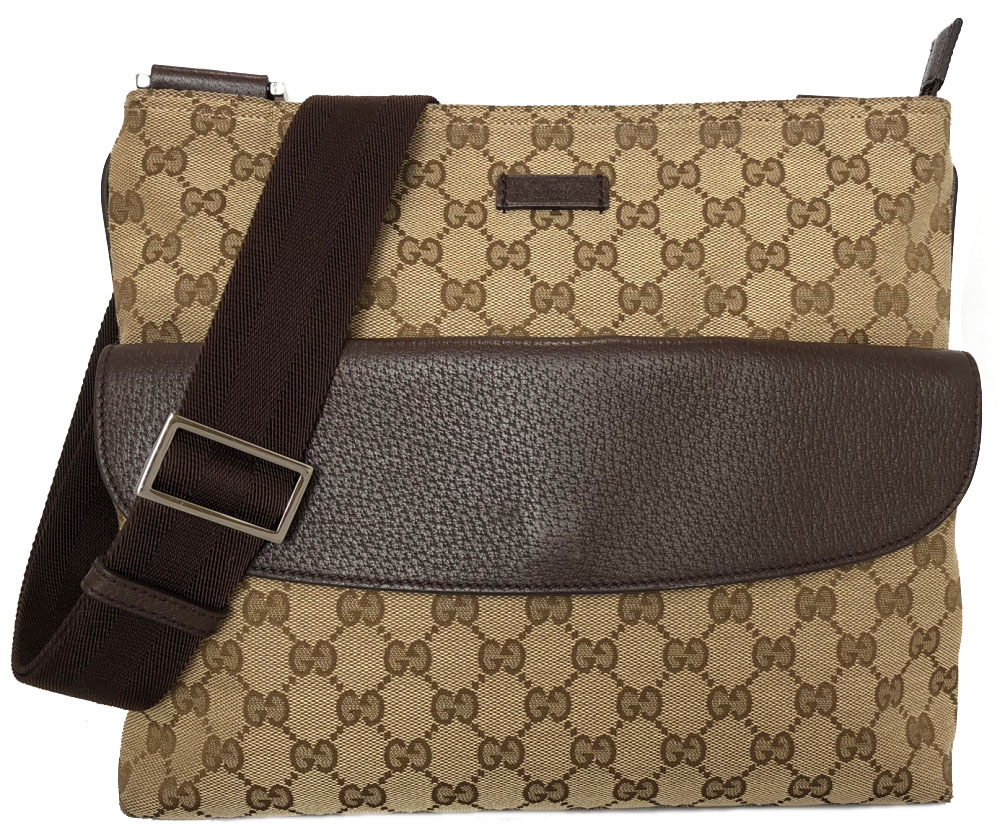 2e107144dd87 Take Gucci shoulder bag GG canvas 256100 slant, and take GG pattern GUCCI  men gap ...