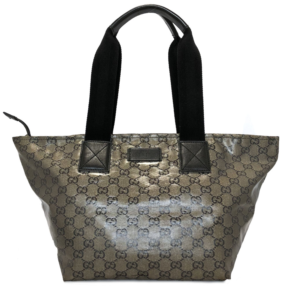 2f334673a831 Gucci tote bag GG crystal GG lam Lady's shoulder bag GUCCI Thoth silver  navy dark blue ...