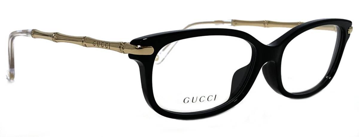 ad5fcb6eb28 Unused Gucci glasses glasses frame Date glasses Lady s GUCCI glasses frame  bamboo gold GG3801 black glasses frame glasses frame glasses