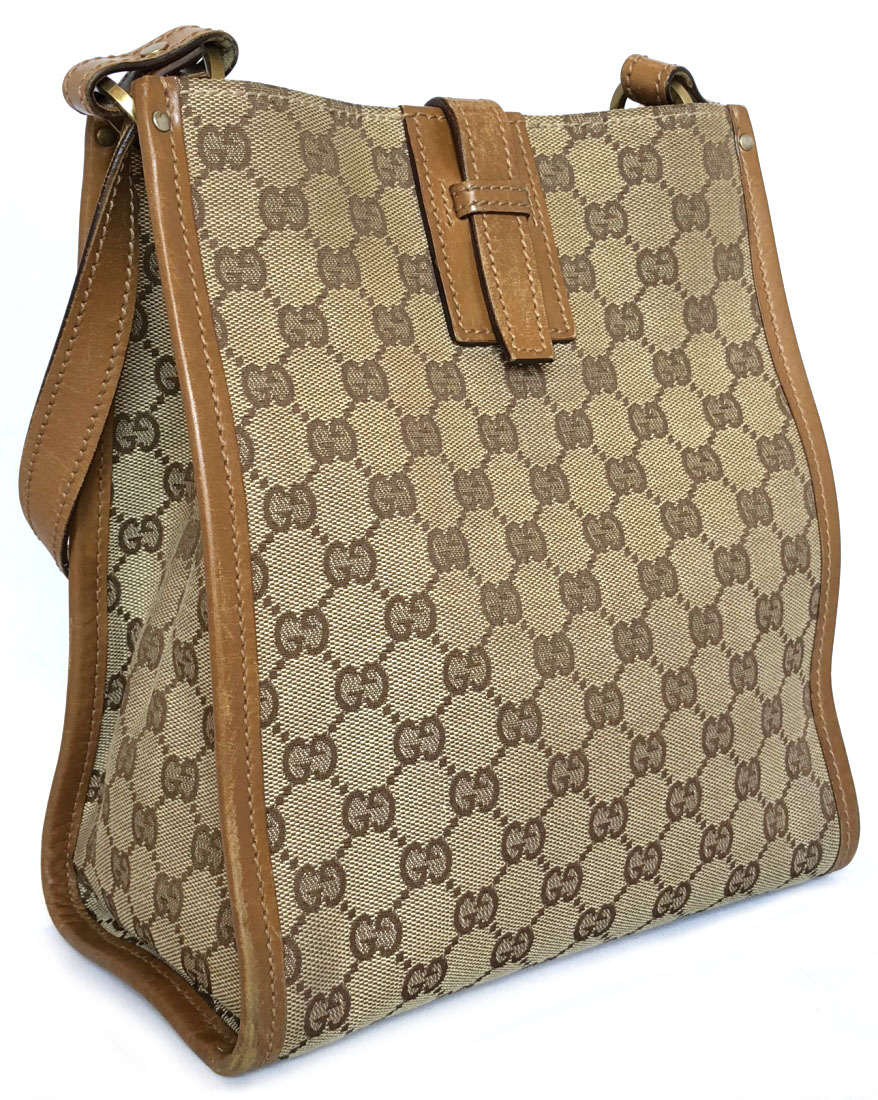 68769f99440f Gucci shoulder bag GG canvas GG pattern GG beige handbag bag 110292 GUCCI  brown men gap ...