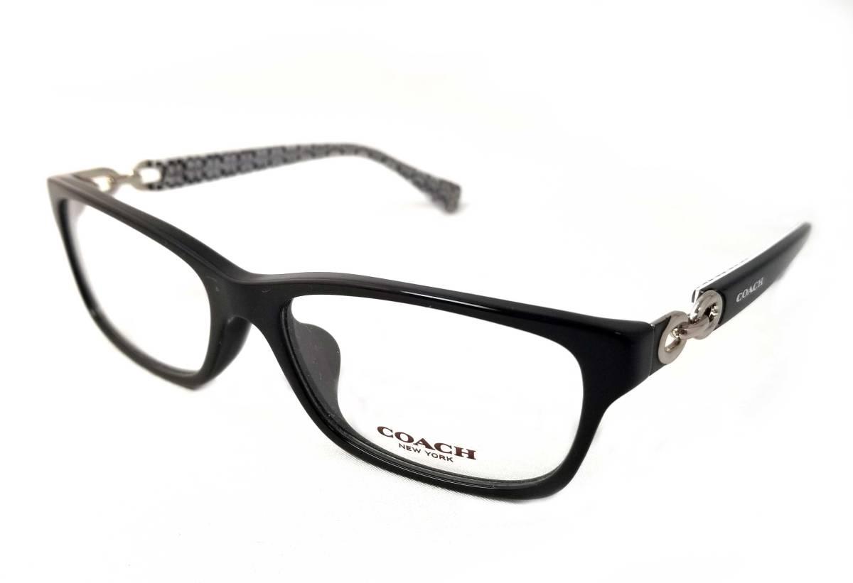 未使用 コーチ 眼鏡 メガネ フレーム めがね 5214 ロゴ チェーン メガネフレーム COACH レディース 女性用 【中古】