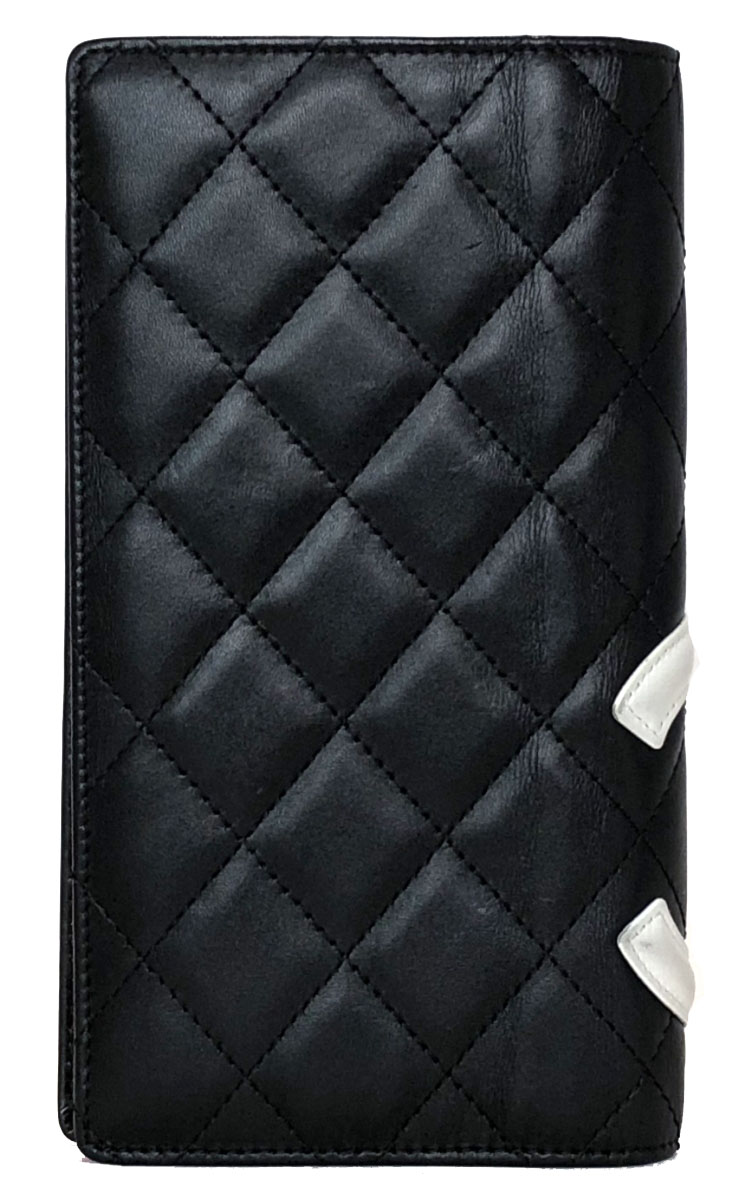 ce292e62f198b5 Categories. « All Categories · Bags, Accessories & Designer Items · Wallets  & Cases · Ladies Wallets · Chanel Cambon line long wallet leather black ...