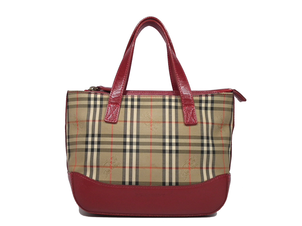 e276314f841 Burberry House Check Bridle Madison Small Buckle Bag Tan 207651
