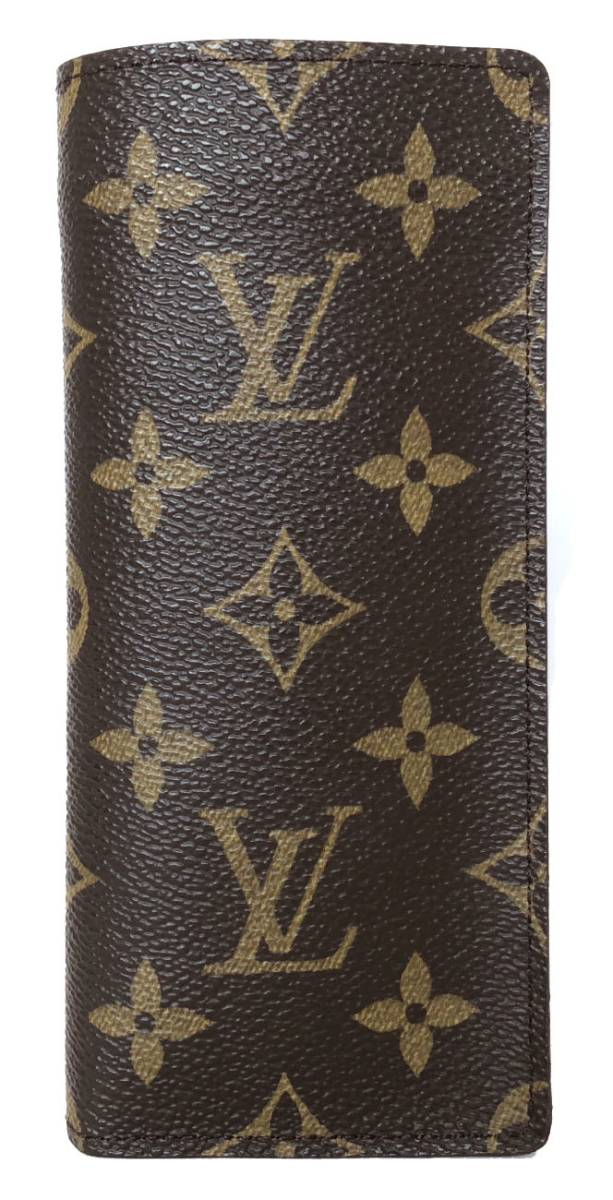 b23882b71975 Like-new Louis Vuitton monogram glasses case glasses case M62962 エテュイリュネット accessory  case ...