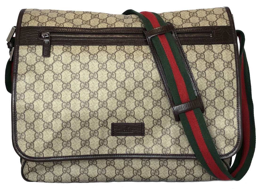 0a33c46e3ce9 Take Gucci shoulder bag GG plus messenger bag 189748 leather PVC sherry  slant, and take ...
