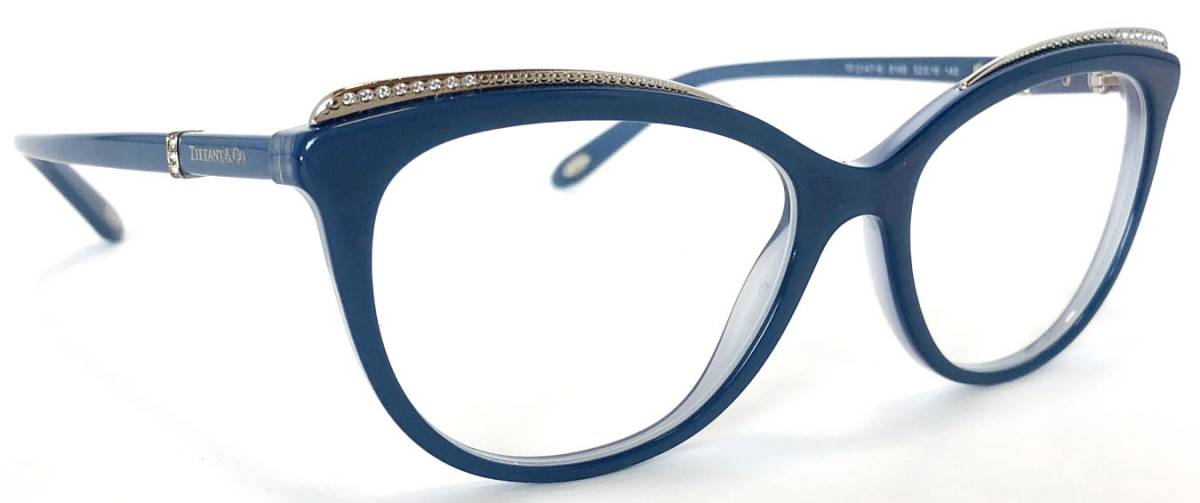 Glasses frame blue system glasses glasses frame for the like-new Tiffany  glasses glasses frame TF2147 blue line stone Lady s sport glasses TIFFANY  woman 42d9a2a2c9