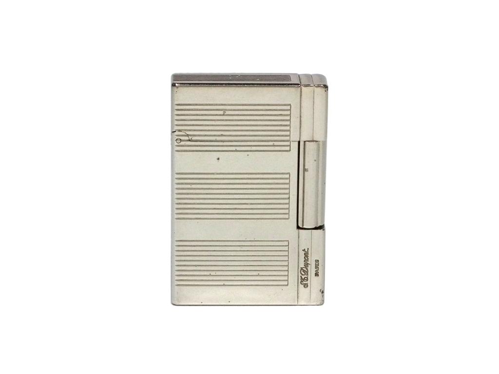 デュポン ライター ギャッツビー 18340 S.T.Dupont ガスライター シルバー GATSBY ギャツビー メンズ 喫煙具 【中古】