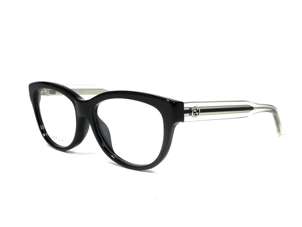 064699ff7d Unused Gucci glasses glasses frame GG3758 interlocking grip black clear men  gap Dis GUCCI glasses frame
