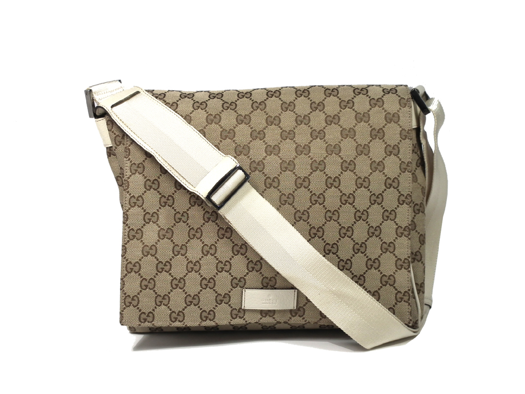 ec75872d95cc Take Gucci shoulder bag messenger bag GG GG canvas beige messenger men gap  Dis slant; pochette 146236 GUCCI