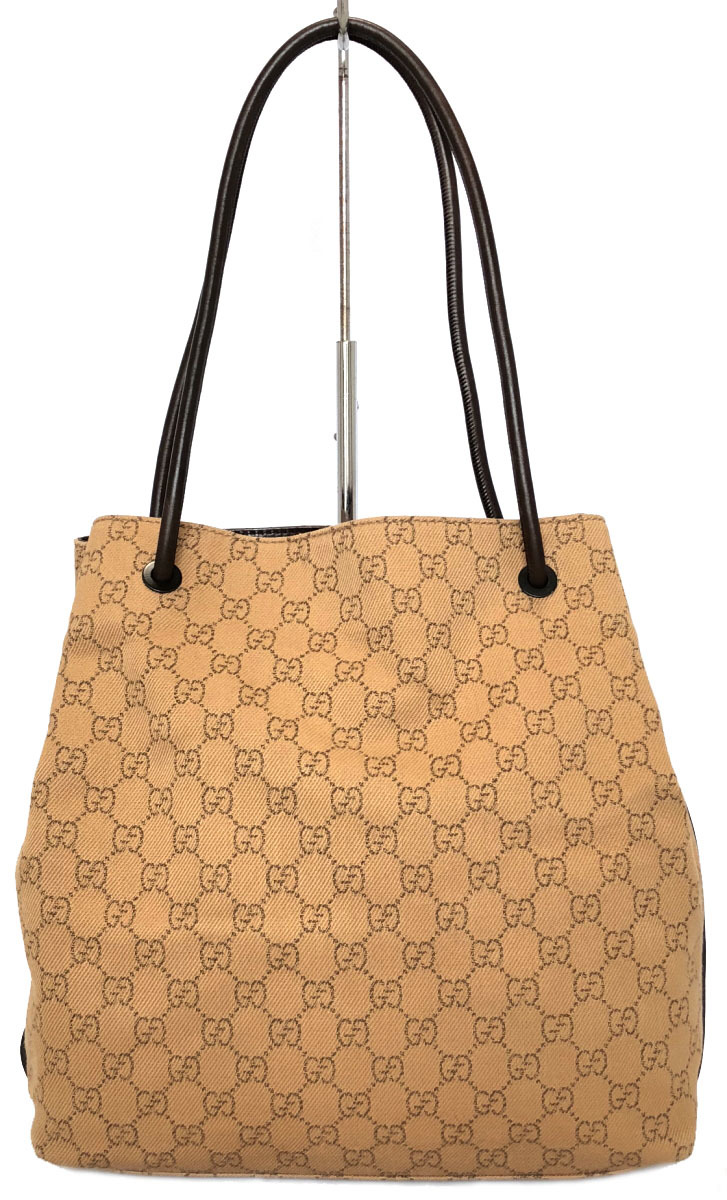 8ef3835c5f0d GG denim canvas having good Gucci GG canvas 2WAY shoulder bag GG beige  101341 tote bag ...