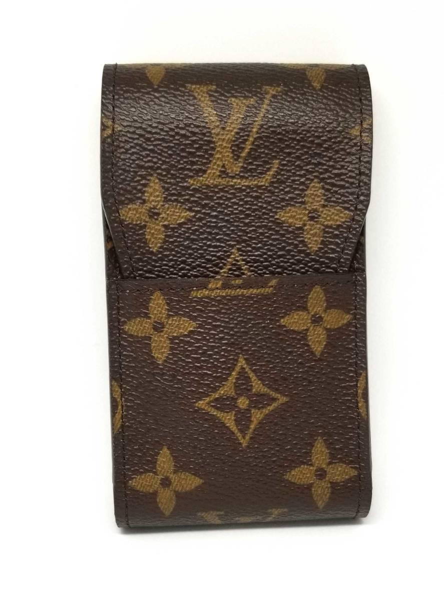 e8d49d2d55 Louis Vuitton cigarette case monogram cigarette case cigarette case M63024  Lady's men LV LOUIS VUITTON Louis Vuitton Louis Vuitton Louis Vuitton