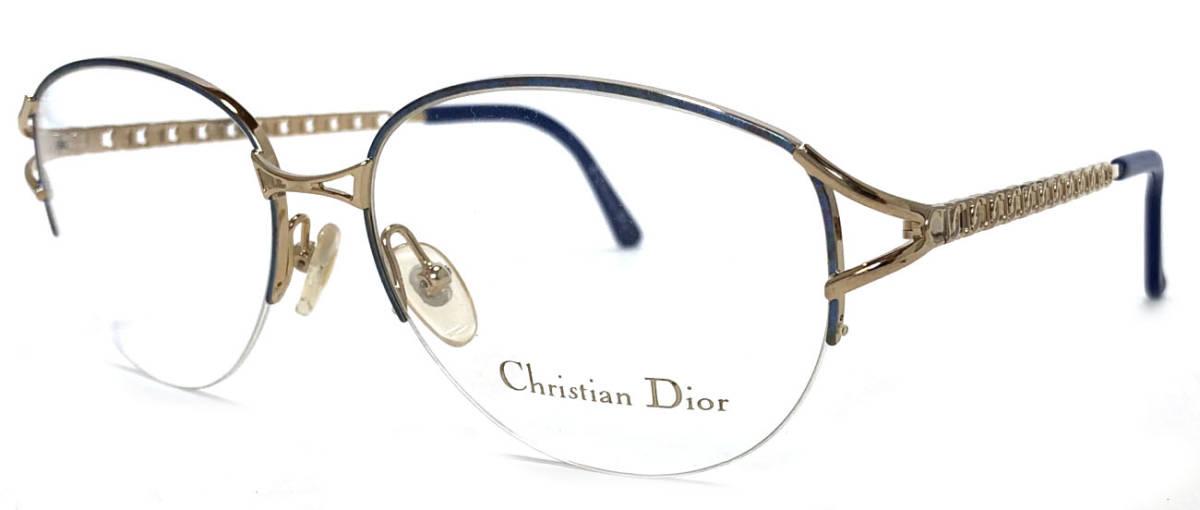 f88b8ae0e3b Unused Christian Dior glasses Lady s glasses frame Dior blue gold glasses  glasses frame Dior glasses frame glasses frame CD CD2046