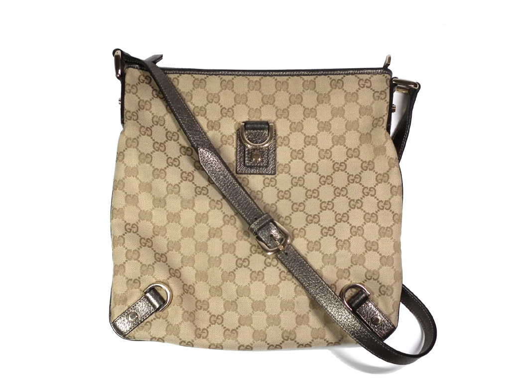 922e12a42d20 Take Gucci GG canvas slant; shoulder bag 131326 beige GG pattern GUCCI  Lady's men GG ...