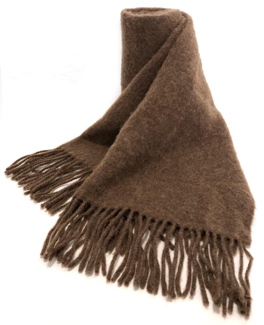 d4313de2e Hermes scarf stall camel hair 100% H mark embroidery brown brown men gap  Dis man ...