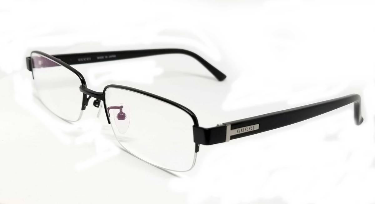 0ad7413c2679e Beautiful article Gucci glasses glasses frame glasses half rim GG 9677  black black logo men gap Dis GUCCI Date glasses