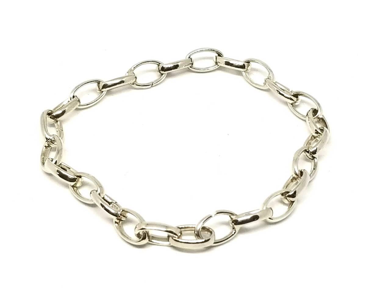 Beautiful article Gucci Silver Charm bracelet \u200e455261 breath Gucci ghost  SV925 18 men\u0027s GUCCI chain