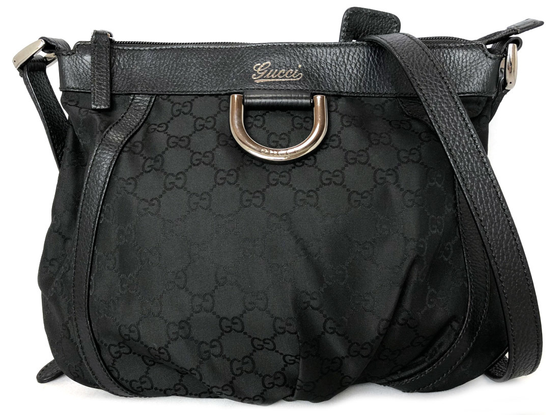 b34acb2e9773 Take Gucci GG canvas shoulder bag Abie 265691 silver metal fittings slant,  and take black ...