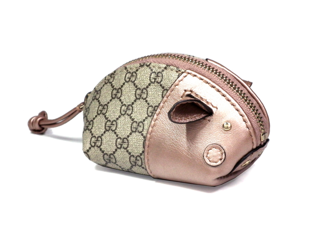 2ee9d6320390 ... Gucci coin case animal GG GG pattern coin purse 256864 pig micro GG  plus animal GUCCI ...