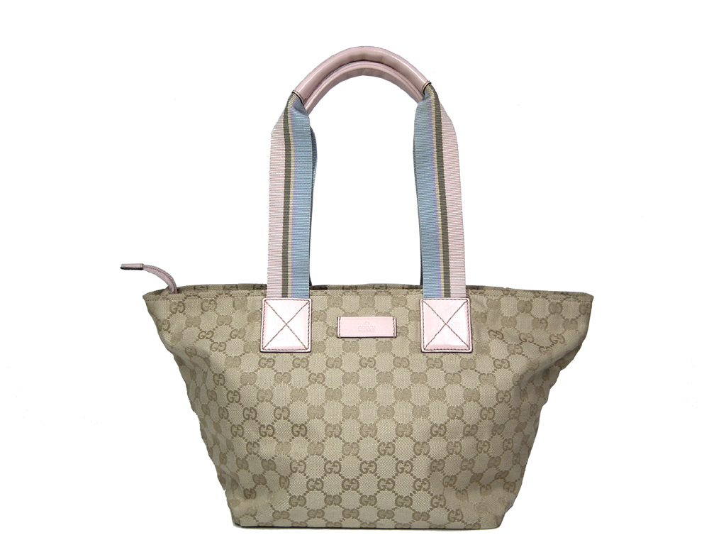 add4b18f0ff9 Brandeal Rakuten Ichiba Shop: Gucci tote bag shoulder bag 131230 beige GG  sherry trapezoid Thoth GUCCI beige pink handbag GG pattern GG canvas Lady's  ...