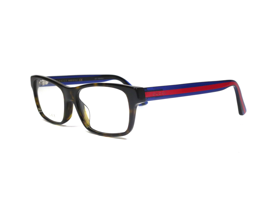 188733c8e4 Unused Gucci glasses frame glasses GG0006OA tortoise shell-like blue red  men gap Dis sport glasses GUCCI