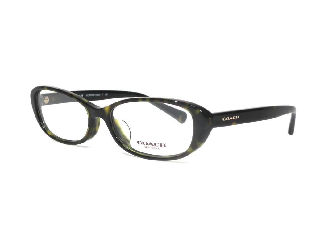 未使用 コーチ 眼鏡 メガネ フレーム めがね ロゴ べっ甲柄 メガネフレーム COACH レディース 女性用 眼鏡フレーム めがねフレーム   【中古】