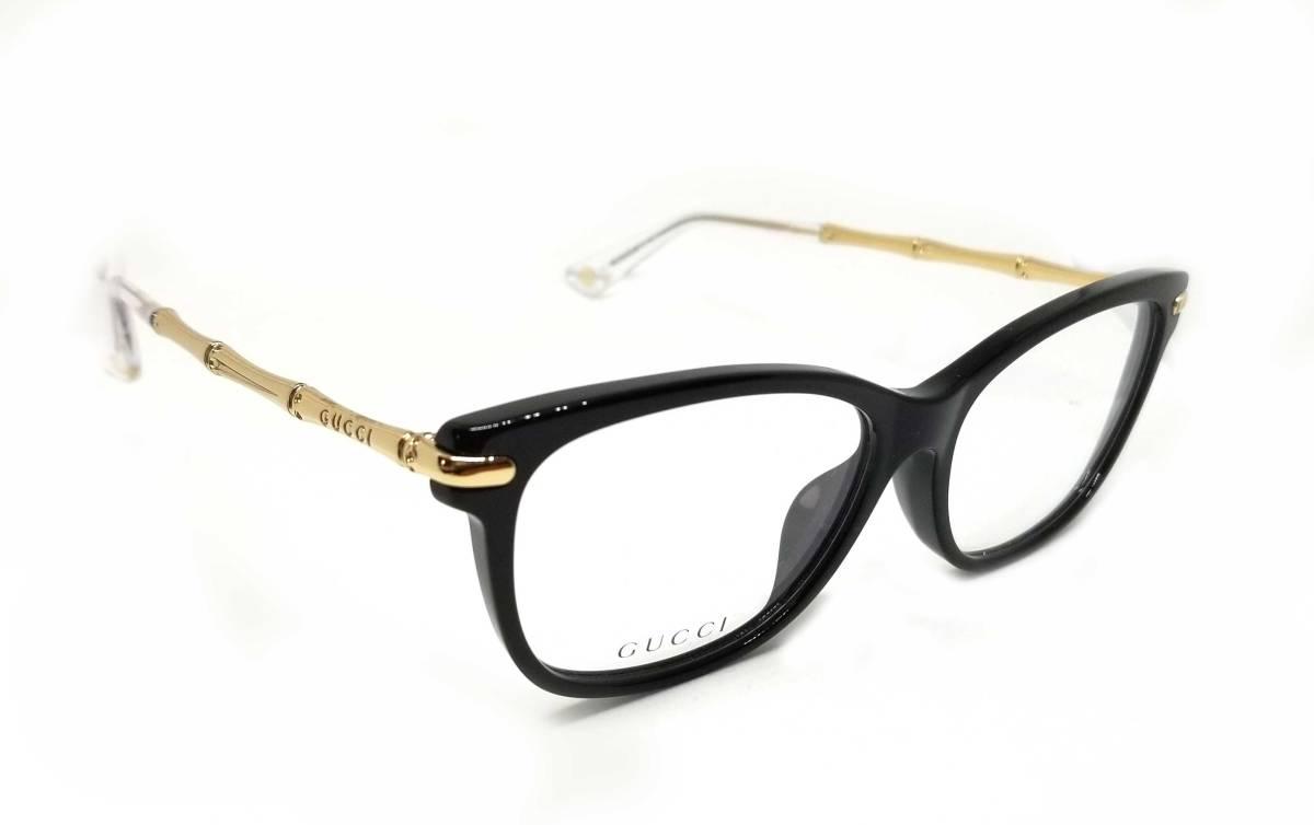 5c3fc3b674 Unused Gucci glasses glasses frame Date glasses Lady s GUCCI glasses frame  bamboo gold GG3801 black glasses frame glasses frame glasses