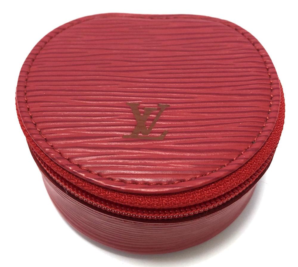 ルイヴィトン エピ 宝石ケース エクランビジュー M48227 ビジューケース カスティリアンレッド 赤 レッド ジュエリーケース 小物入れ 美品 LV ビトン LOUIS VUITTON ルイ・ビトン ルイ・ヴィトン 【中古】