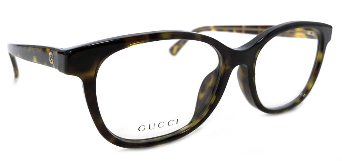 未使用 グッチ メガネ めがね フレーム 眼鏡 GG メガネフレーム べっ甲柄 メンズ レディース 伊達メガネ めがねフレーム 眼鏡フレーム GG3755 GUCCI 【中古】