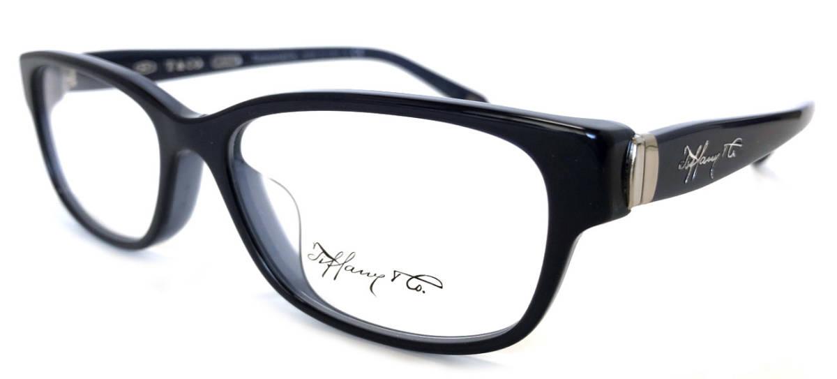 未使用 ティファニー メガネフレーム TF2126 メガネ 眼鏡 ネイビー 紺 めがね フレーム ロゴ レディース ブルー めがねフレーム 眼鏡フレーム TIFFANY 【中古】