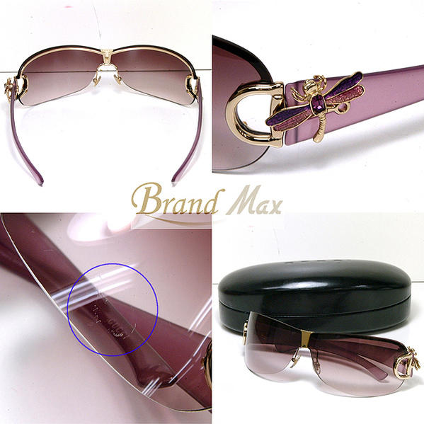Discount Gucci sunglasses /GG2748 Dragonfly / / purple / a class articles ☆