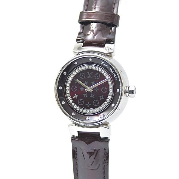 ルイヴィトン Louis Vuitton タンブール ディスク アマラント ディアモンMM Q1319 SS【中古】