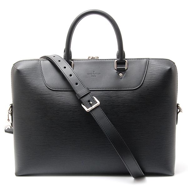 ルイヴィトン Louis Vuitton エピ PDJ ビジネスバッグ ブラック M50163【中古】