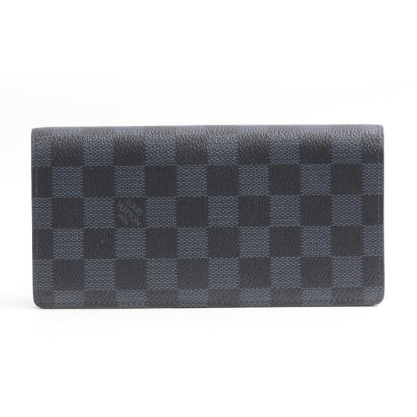 ルイヴィトン Louis Vuitton ダミエコバルト ポルトフォイユブラザ 長財布 N63212【中古】