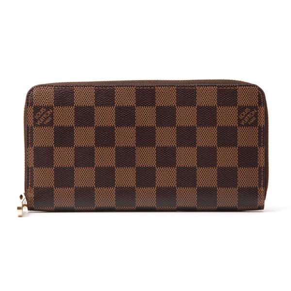 ルイヴィトン Louis Vuitton N60015 ダミエ ジッピーウォレット A級品【中古】