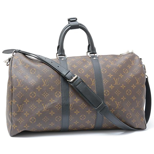 ルイヴィトン Louis Vuitton モノグラムマカサー キーポルバンドリエール45 M56711【中古】