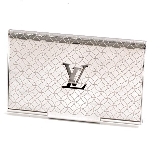 ルイヴィトン Louis Vuitton メタル ポルトカルト・シャンゼリゼ カードケース 名刺入れ M65227【中古】
