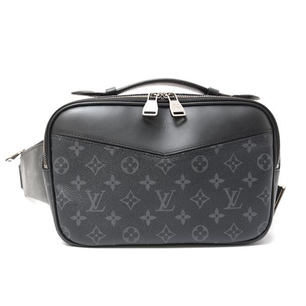 ルイヴィトン Louis Vuitton モノグラム・エクリプス バムバッグ ボディバッグ クラッチバッグ M42906【中古】