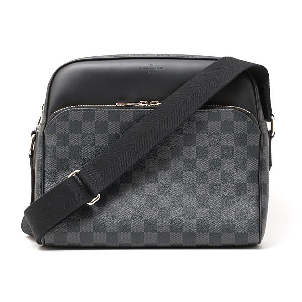 ルイヴィトン Louis Vuitton ダミエ・グラフィット デイトンPM N41408 ショルダーバッグ【中古】