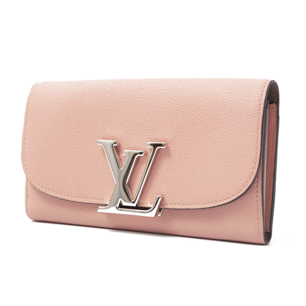 ルイヴィトン Louis Vuitton ルイヴィトン・パルナセア 二つ折り長財布 ポルトフォイユ ヴィヴィエンヌ マグノリア M58408【中古】