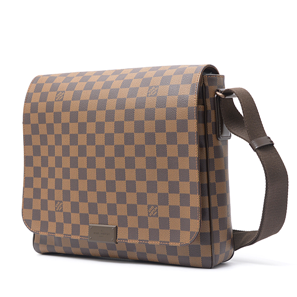 ルイヴィトン Louis Vuitton ダミエ ディストリクトMM ショルダーバッグ N41212【中古】