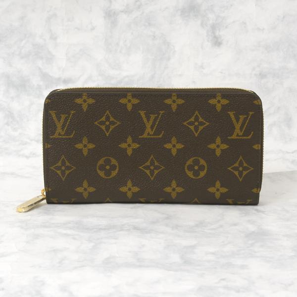 ルイヴィトン Louis Vuitton モノグラム ジッピーウォレット メンズ 長財布 M42616【中古】