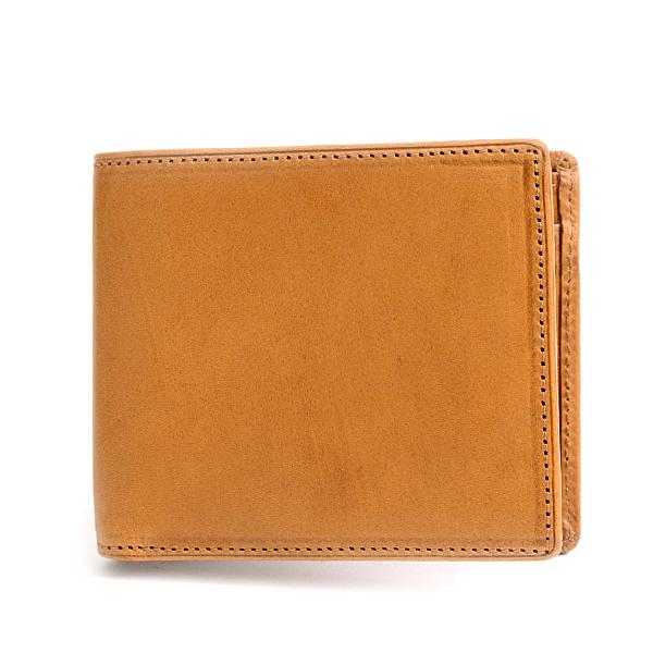 ギオネ GUIONNET 二つ折り財布 メンズ ブラウン PG202【中古】