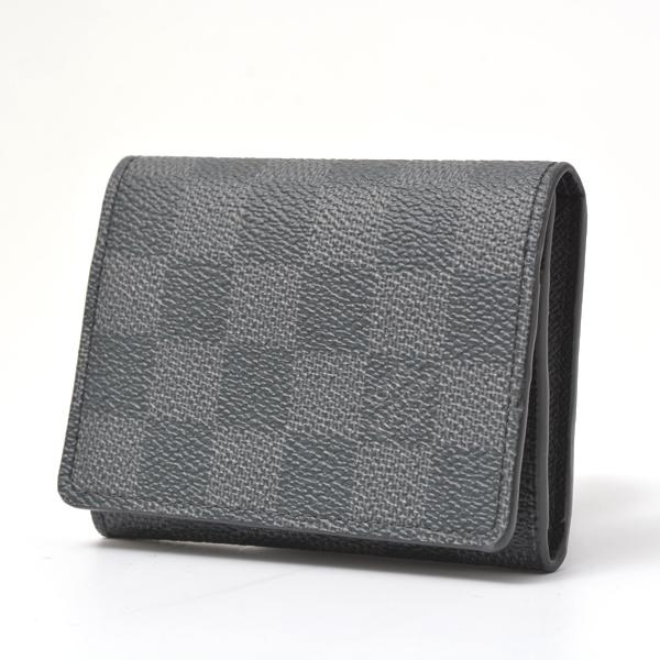 ルイヴィトン Louis Vuitton ダミエグラフィット カードケース アンヴェロップ・カルト ドゥ ヴィジット N63338【未使用品】