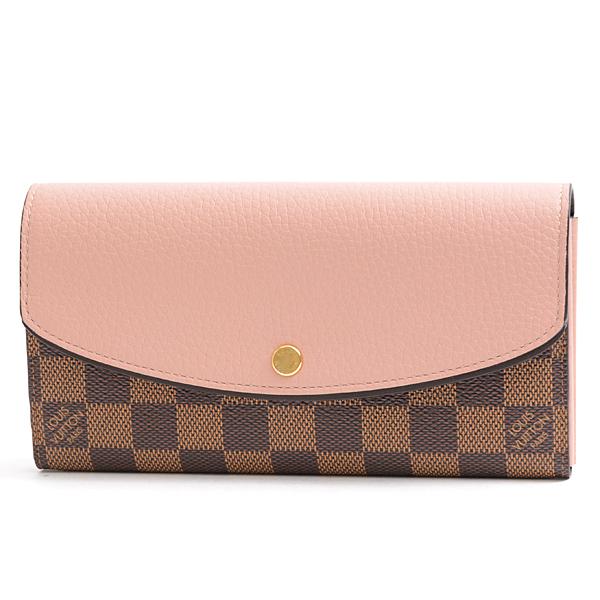 ルイヴィトン Louis Vuitton ダミエ ポルトフォイユ ノルマンディー 二つ折り長財布 N61262【未使用展示品】