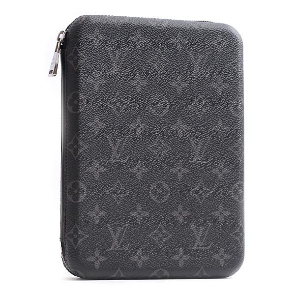 ルイヴィトン LOUIS VUITTON iPadカバー・ボックス メンズ モノグラム・エクリプス M61870【中古】
