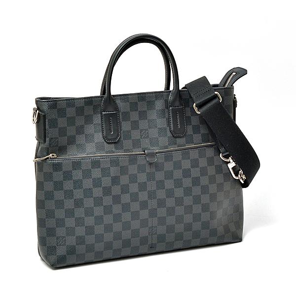 ルイヴィトン Louis Vuitton 7DW セブンデイズウィーク メンズ 2WAY ショルダートートバッグ ダミエグラフィット N41564【中古】