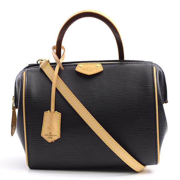 ルイヴィトン Louis Vuitton エピ ドックBB 2WAY ツーウェイバッグ レディース ノワール M93248【中古】